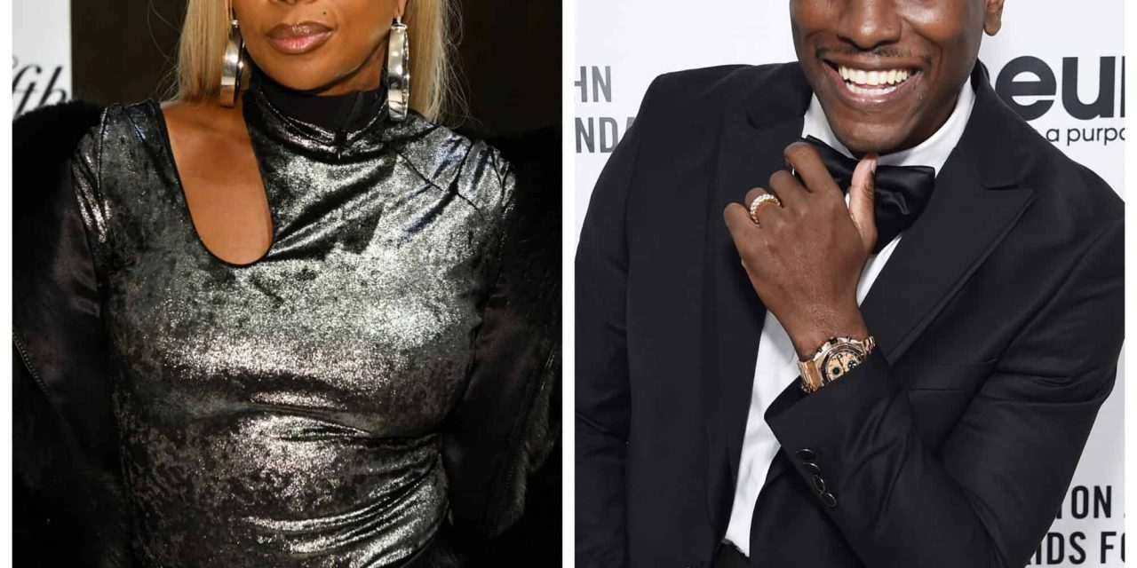 Tyrese Tried To Touch Mary J. Blige's Thigh At Her 50th Birthday Party And The Monet Tejada Came Out (Video)