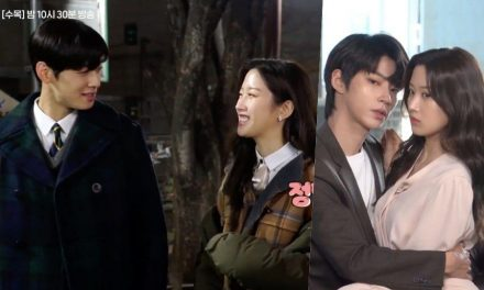 "Watch: Cha Eun Woo And Moon Ga Young Bicker Over Hand Holding + Hwang In Yeob Gets Shy Behind The Scenes Of ""True Beauty"""