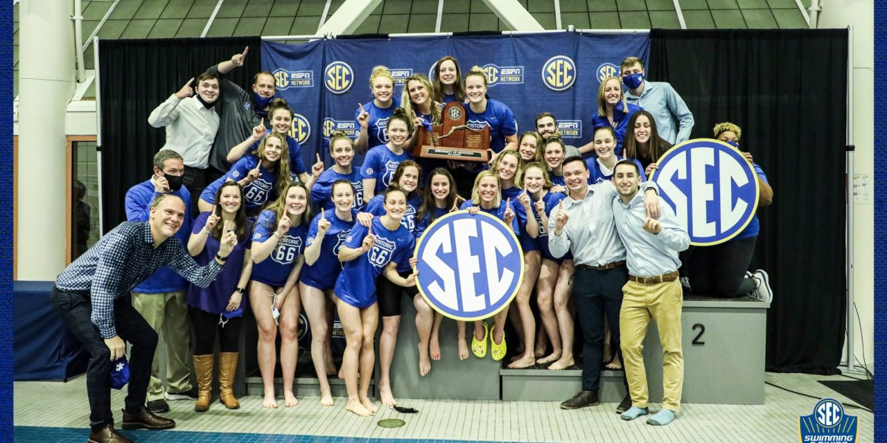 Kentucky Wins Their First-Ever SEC Championships Title