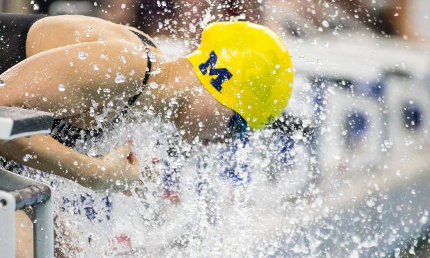 Maggie MacNeil Drops Fastest 50 Back in History, 23.02, at Big Ten Champs