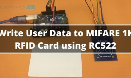 How to Write Data to RFID Card using RC522 RFID and Arduino?