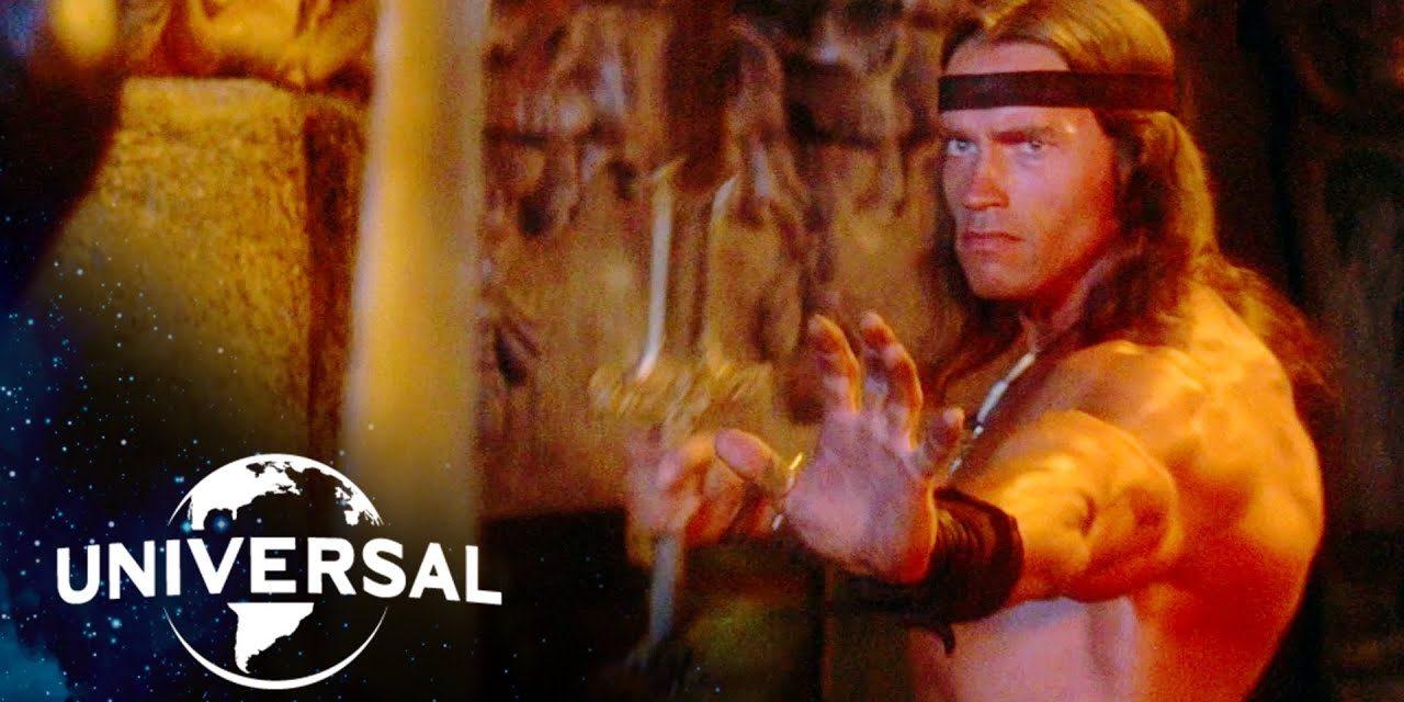 Conan the Destroyer | Arnold Schwarzenegger Battles His Way Out of a Crypt
