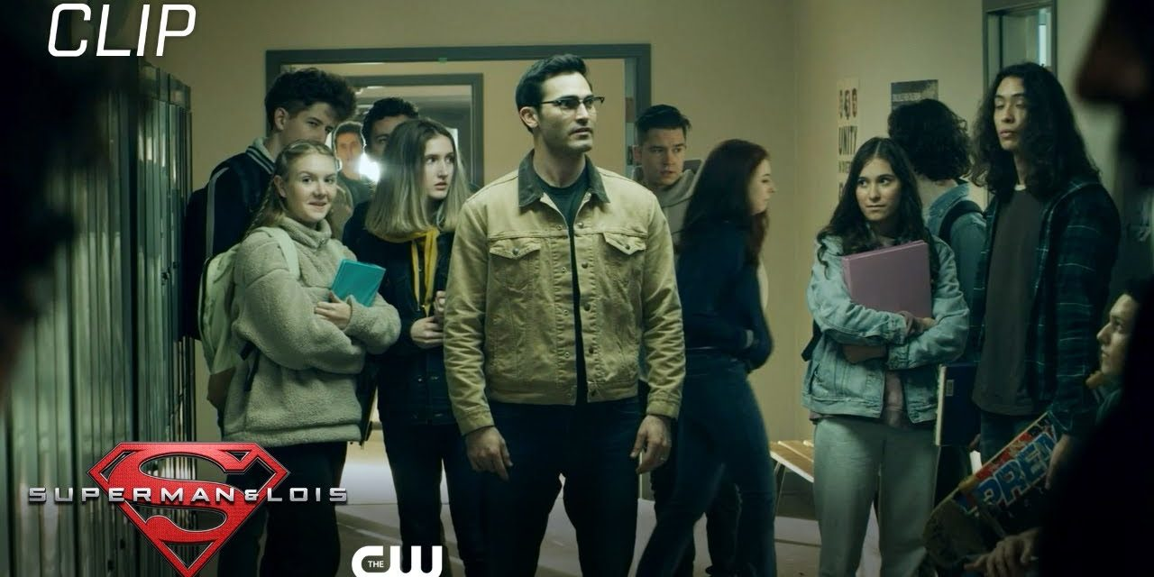 Superman & Lois | Season 1 Episode 3 | Clark Shows Up Scene | The CW