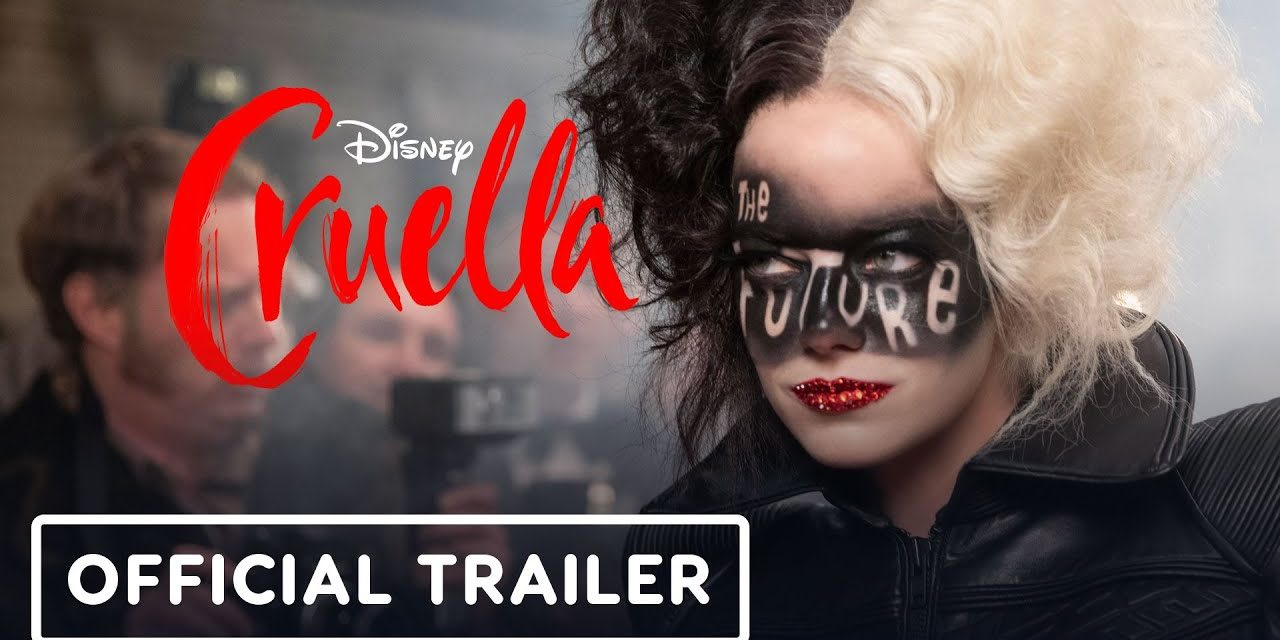 Disney's Cruella – Sneak Peek Trailer (2021) Emma Stone, Emma Thompson