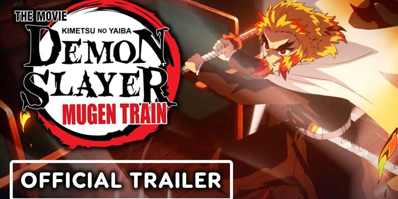 Demon Slayer -Kimetsu no Yaiba- The Movie: Mugen Train – Official English Dub Trailer