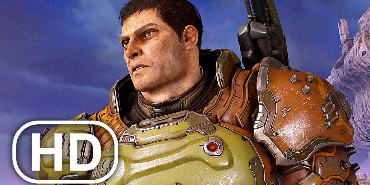 Doom Eternal The Ancient Gods Part 2 Ending 4K ULTRA HD
