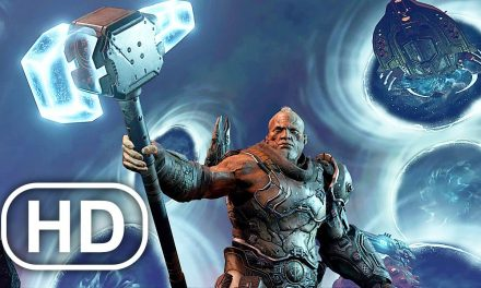 Doom Eternal The Ancient Gods Part 2 Avengers Portals Scene 4K ULTRA HD
