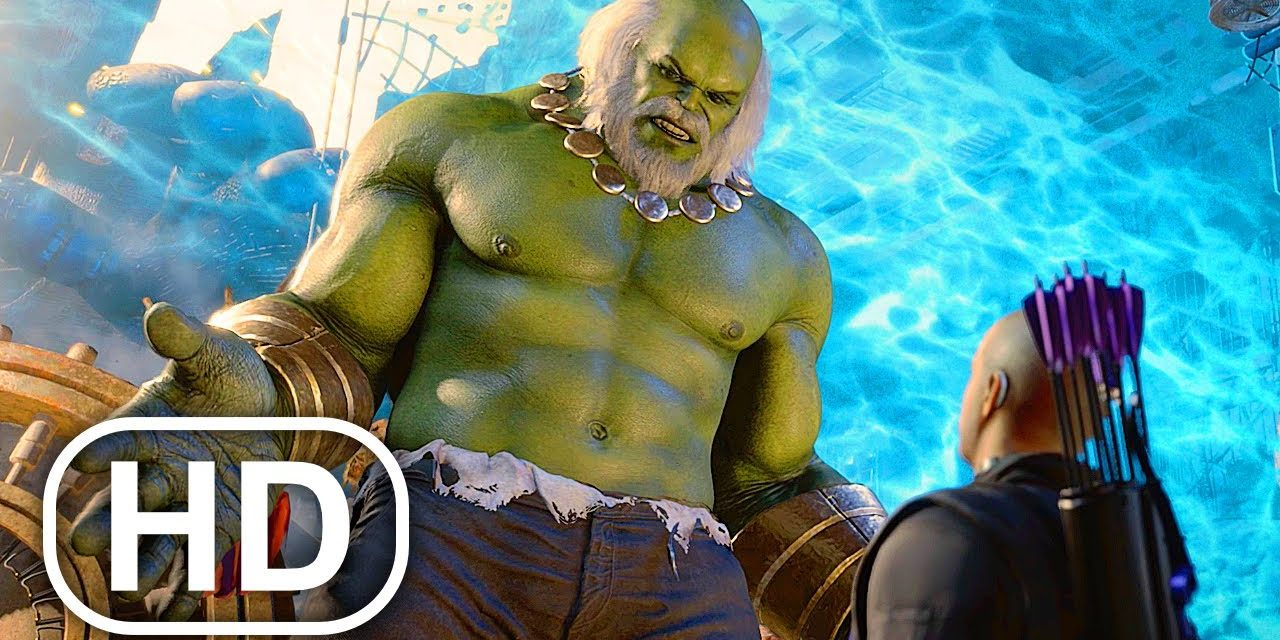 Marvel's Avengers Hawkeye All Cutscenes Full Movie (2021) Marvel Superhero 4K ULTRA HD
