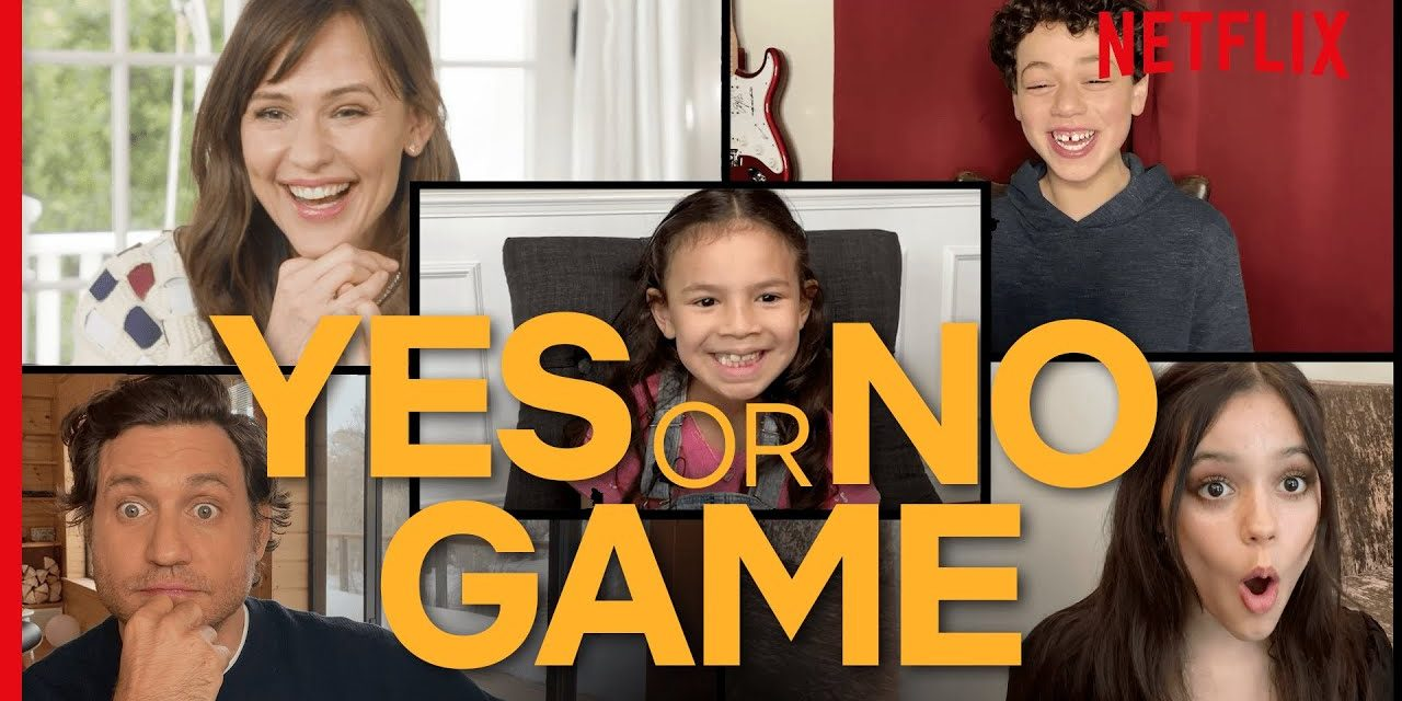 The Yes Day Cast Play The Yes/No Game | Netflix