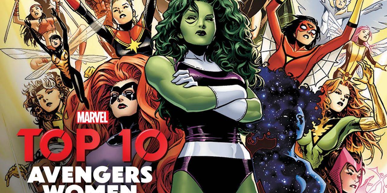 Top 10 | Avengers Women