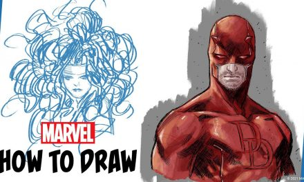 How to Draw Daredevil w/ Marco Checchetto | IN ITALIANO