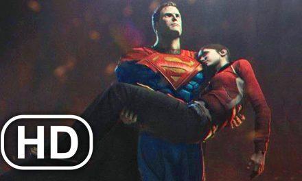 JUSTICE LEAGUE Superman Kills Lois Lane Scene 4K ULTRA HD – Injustice Cinematic