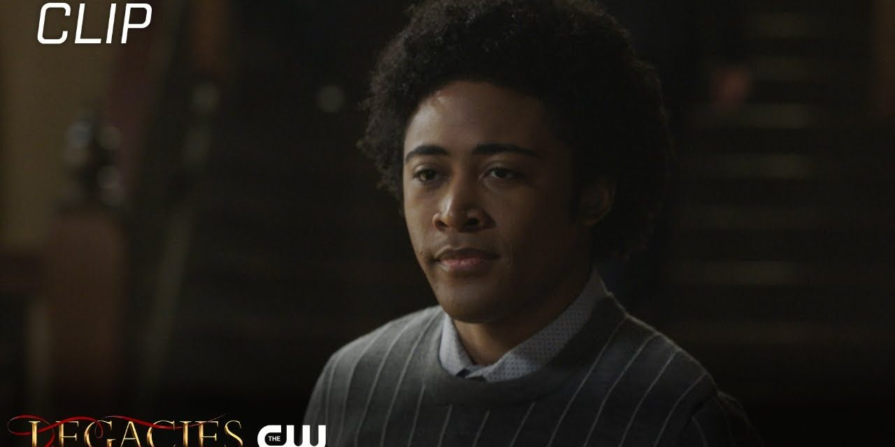 Legacies   Season 3 Episode 8   MG Gets The Cold Shoulder Scene   The CW