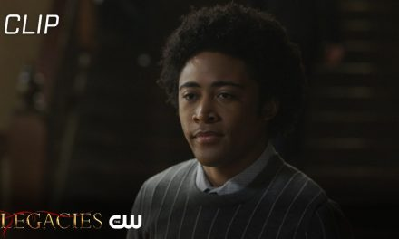 Legacies | Season 3 Episode 8 | MG Gets The Cold Shoulder Scene | The CW