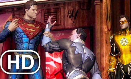 JUSTICE LEAGUE Superman Takes Sinestro Ring From His Finger Scene 4K ULTRA HD – Injustice Cinematic