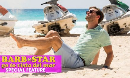 "Barb & Star Go To Vista Del Mar (2021 Movie) Special Features ""Emotional Dancing with Jamie Dornan"""
