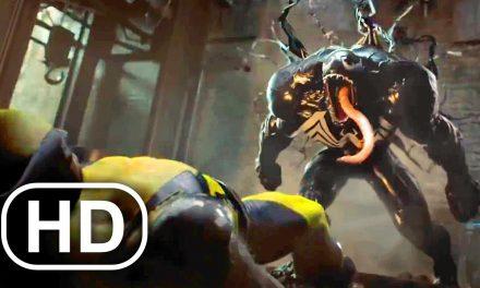 VENOM Vs WOLVERINE Fight Scene FULL BATTLE 4K ULTRA HD – Avengers Battle For Earth All Cinematics