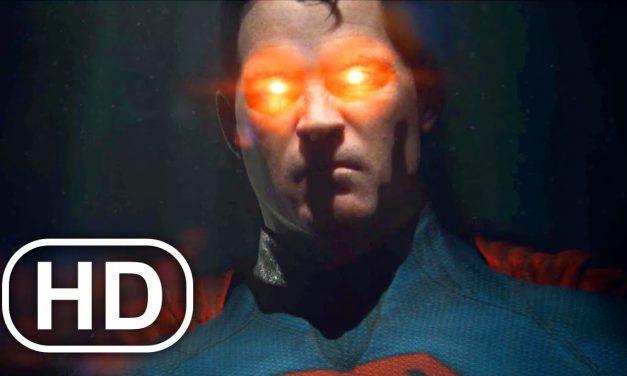 JUSTICE LEAGUE Superman Laser Eye Kills Civilians In Cars Scene 4K ULTRA HD – Injustice Cinematic