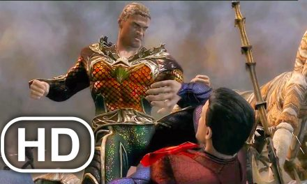 JUSTICE LEAGUE Superman Army Vs Army Of Aquaman Fight Scene 4K ULTRA HD – Injustice Cinematic