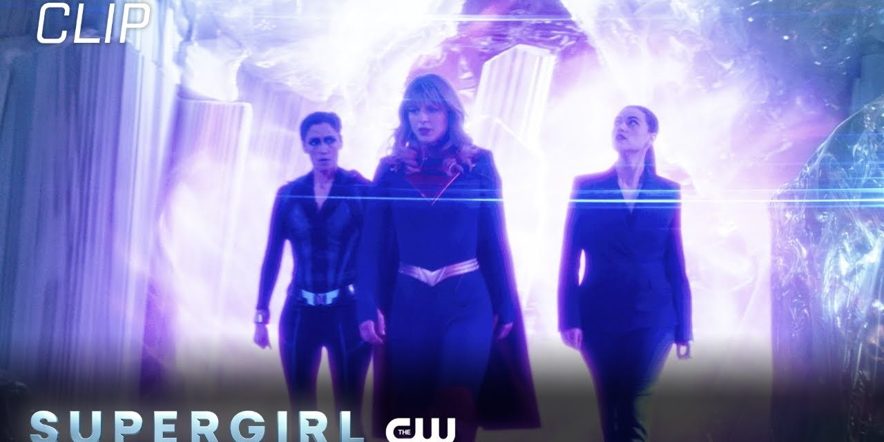 Supergirl   Season 6 Episode 1   Supergirl Talks To Lena In The Fortress Of Solitude Scene   The CW
