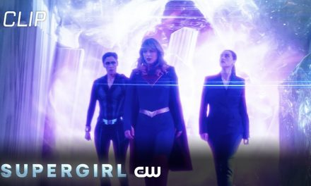 Supergirl | Season 6 Episode 1 | Supergirl Talks To Lena In The Fortress Of Solitude Scene | The CW