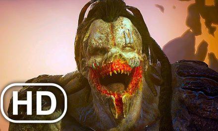 OUTRIDERS Ending & Final Boss Fight 4K ULTRA HD
