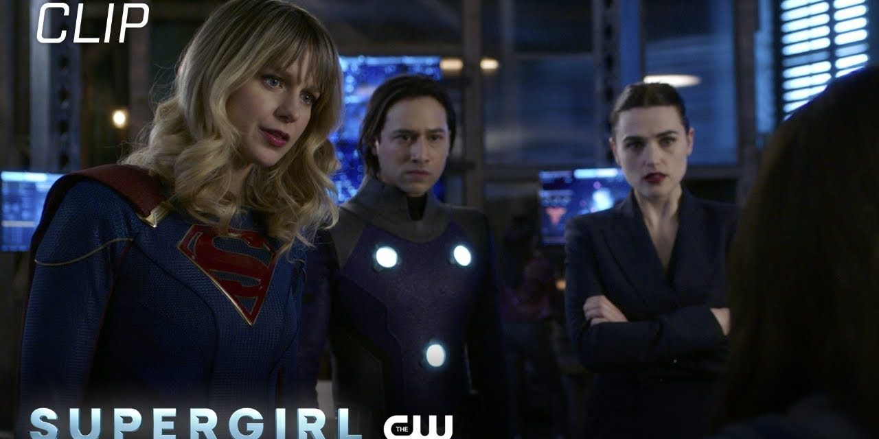 Supergirl   Season 6 Episode 1   Supergirl And Friends Answer A Call Scene   The CW