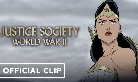 Justice Society: World War 2 – Official Clip (2021) Matt Bomer, Stana Katic