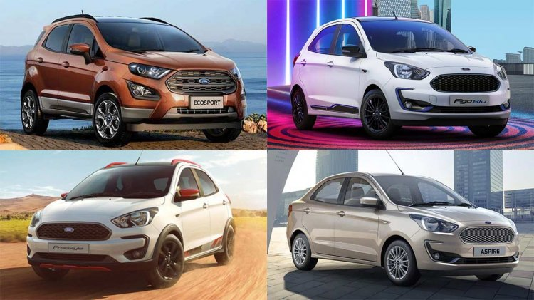 All Ford Cars In India To Become More Expensive From April 2021