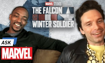 Marvel Studio's The Falcon and The Winter Soldier – Anthony Mackie & Sebastian Stan | Ask Marvel