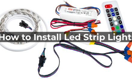 How to Install Led Strip Lights