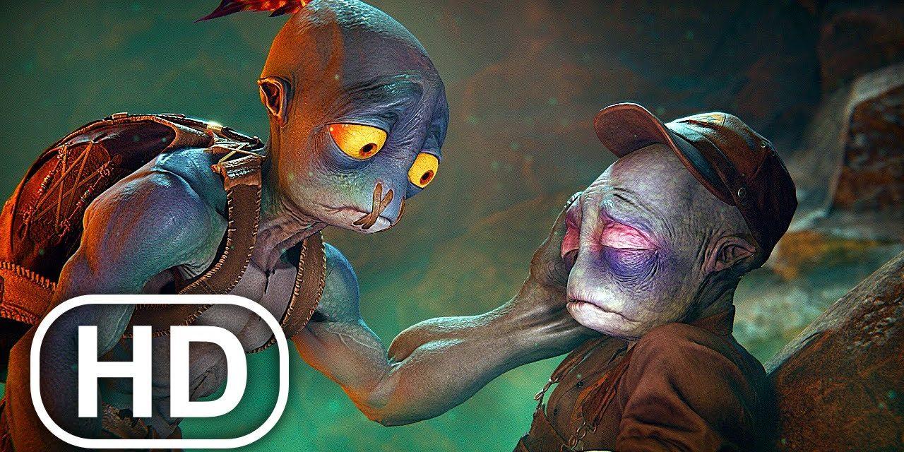 ODDWORLD SOULSTORM Full Movie Animation (2021) All Cinematics 4K ULTRA HD