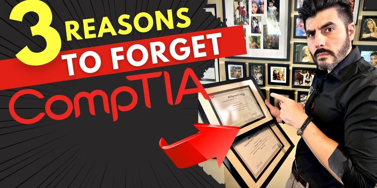 Is CompTIA A+ WORTH IT? 3 Reasons NOT to get it