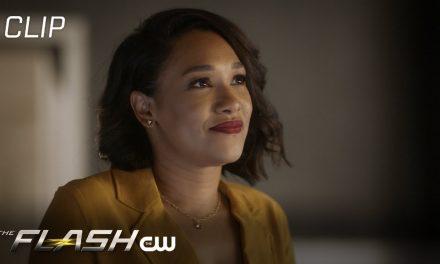 The Flash | Season 7 Episode 6 | Iris Tells Nora About Barry's Blanket Burrito Scene | The CW