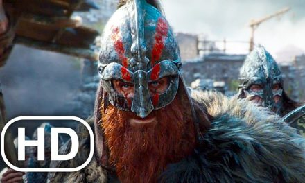 VIKINGS VS SAMURAI Fight Scene Full Battle (2021) For Honor Cinematic 4K ULTRA HD