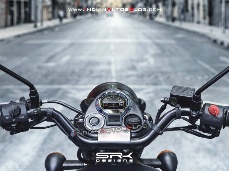 New Royal Enfield Classic 350 Instrument Console Detailed in Video