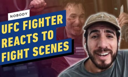 UFC Pro Fighter Reacts to Fight Scenes From Nobody