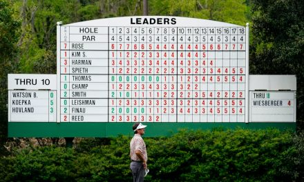 Best photos from the 2021 Masters at Augusta National