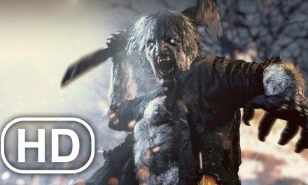 Resident Evil 8 Village Werewolf Transformation Scene 4K ULTRA HD