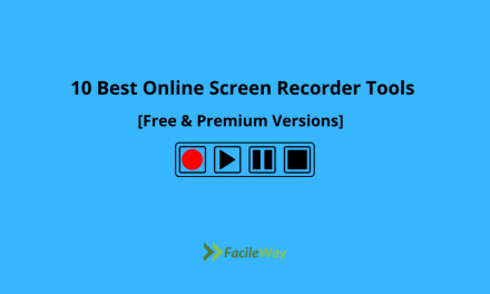 10 Best Online Screen Recorder Tools In 2021 [Free & Premium]