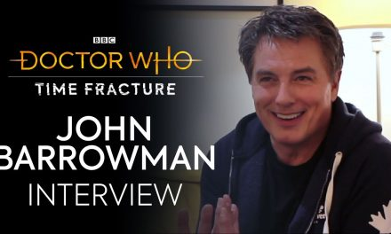 John Barrowman Interview   Time Fracture   Doctor Who