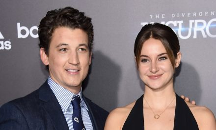 Divergent's Shailene Woodley & Miles Teller Reunite at Kentucky Derby, Aaron Rodgers Was There Too!