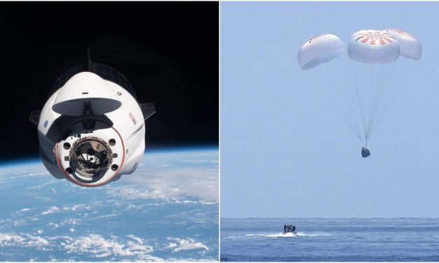 SpaceX has safely landed 4 astronauts in the ocean for NASA, completing the US's longest human spaceflight