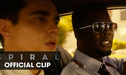 """Spiral (2021) Clip """"Nothing Happier Than the Wife of a New Detective"""" – Chris Rock, Max Minghella"""