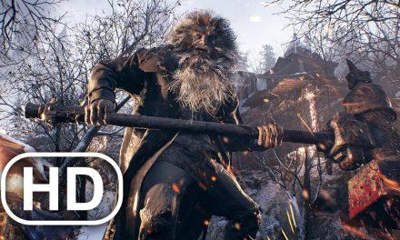 RESIDENT EVIL 8 VILLAGE Lycan King Boss Fight 4K ULTRA HD