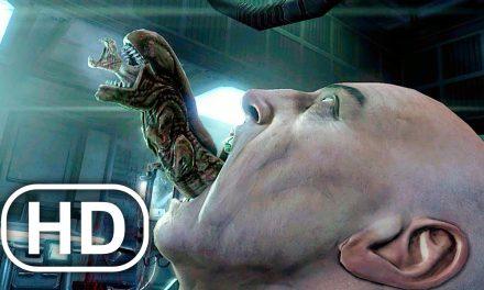 Alien Chestburster Scene 4K ULTRA HD – Aliens Vs Predator