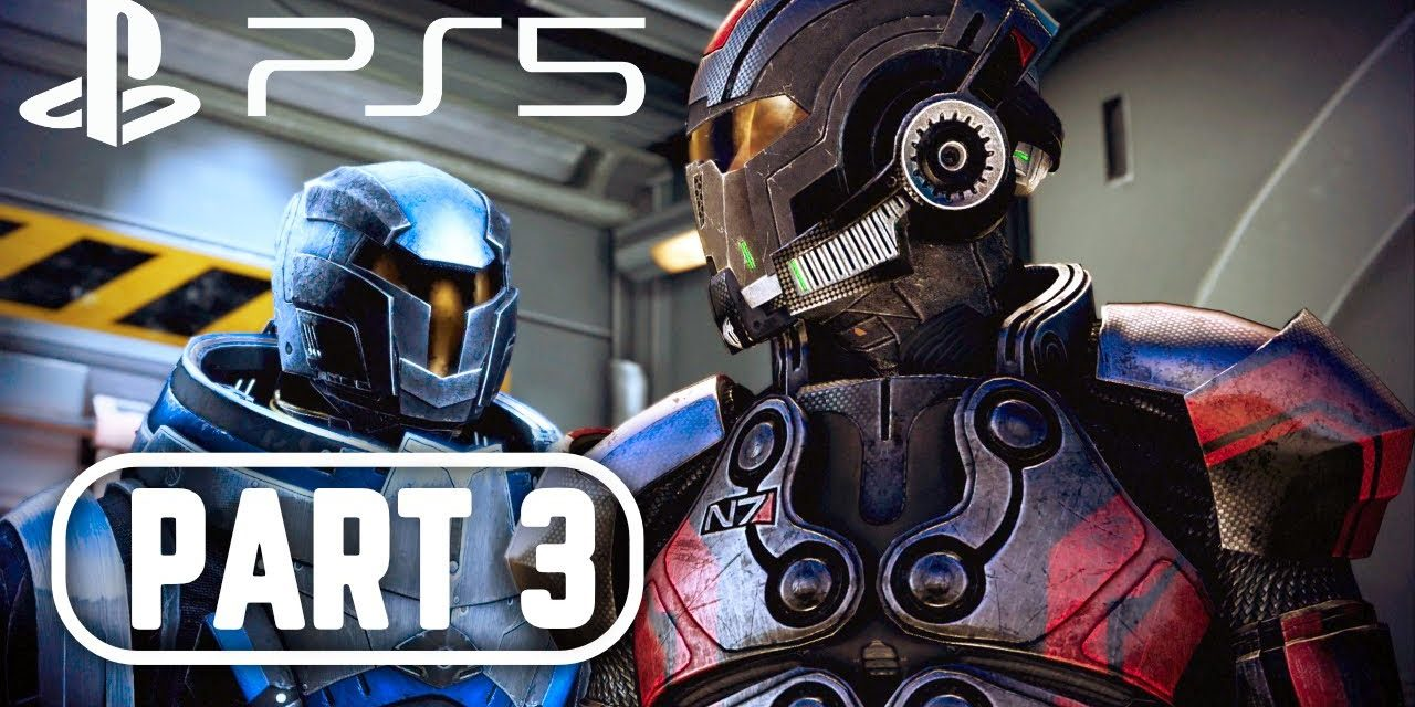 MASS EFFECT 3 LEGENDARY EDITION PS5 Gameplay Walkthrough Part 3 FULL GAME 4K 60FPS No Commentary