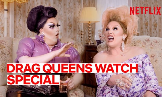 Drag Queens The Vivienne & Lawrence Chaney React to Special | I Like to Watch UK Ep 11