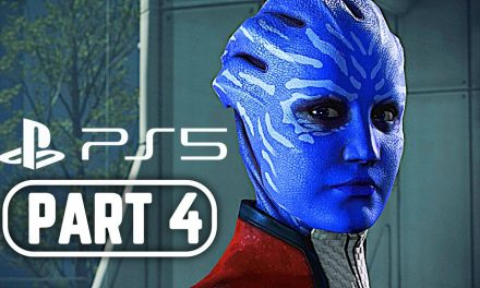MASS EFFECT 3 LEGENDARY EDITION PS5 Gameplay Walkthrough Part 4 FULL GAME 4K 60FPS No Commentary