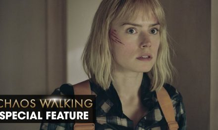 """Chaos Walking (2021 Movie) Special Feature """"Daisy Ridley on The Noise"""" – Tom Holland"""